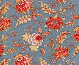 CHINTZ HOLLANDAIS 1022BLUE