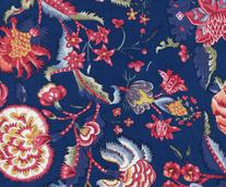 CHINTZ HOLLANDAIS 5000 BLEU