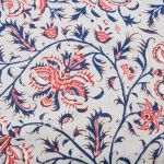 CHINTZ HOLLANDAIS 1018 BLEU CLAIR