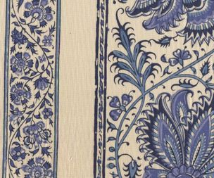 CHINTZ HOLLANDAIS 1019 CHINA BLUE