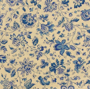 CHINTZ HOLLANDAIS 2040  CHINA BLUE