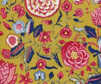 CHINTZ HOLLANDAIS 5000 JAUNE